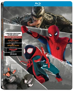 Colección 4 películas Spider-Man Edición Limitada Steelbok