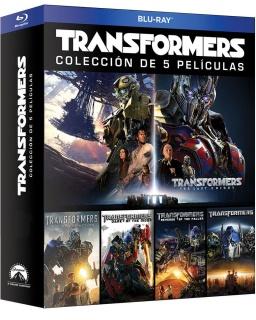 Transformers Colección de las Cinco Películas Boxset